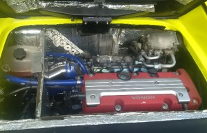 Stark customer engine bay inc aircon